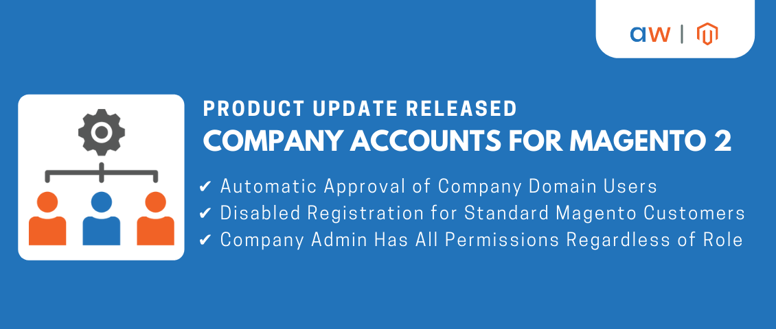 Product Update Released | Company Accounts For Magento 2