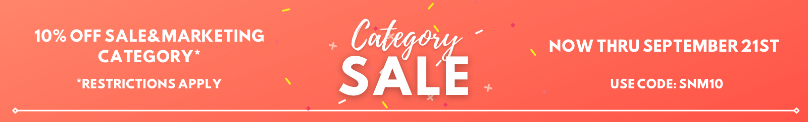 Category Sale Sales and Marketing