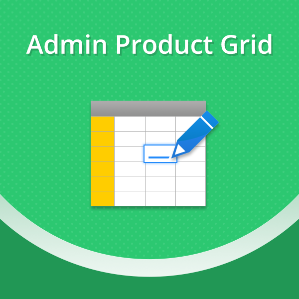 Admin Product Grid