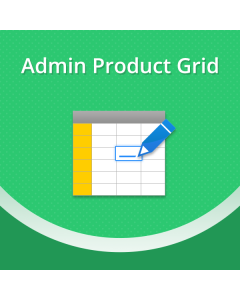 The Admin Product Grid Magento Extension
