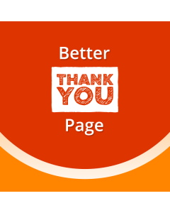 Better Thank You Page