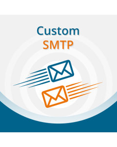 Custom Magento  SMTP server settings  Extension