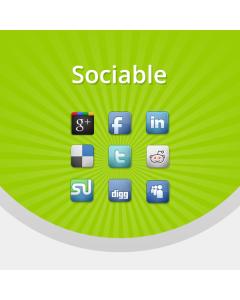 Sociable - Social Media manager