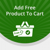 Add Free Product to Cart for Magento