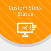 Magento Custom Stock Status