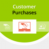 Magento Customer Purchases Extension