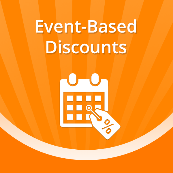 Event-Based Discounts