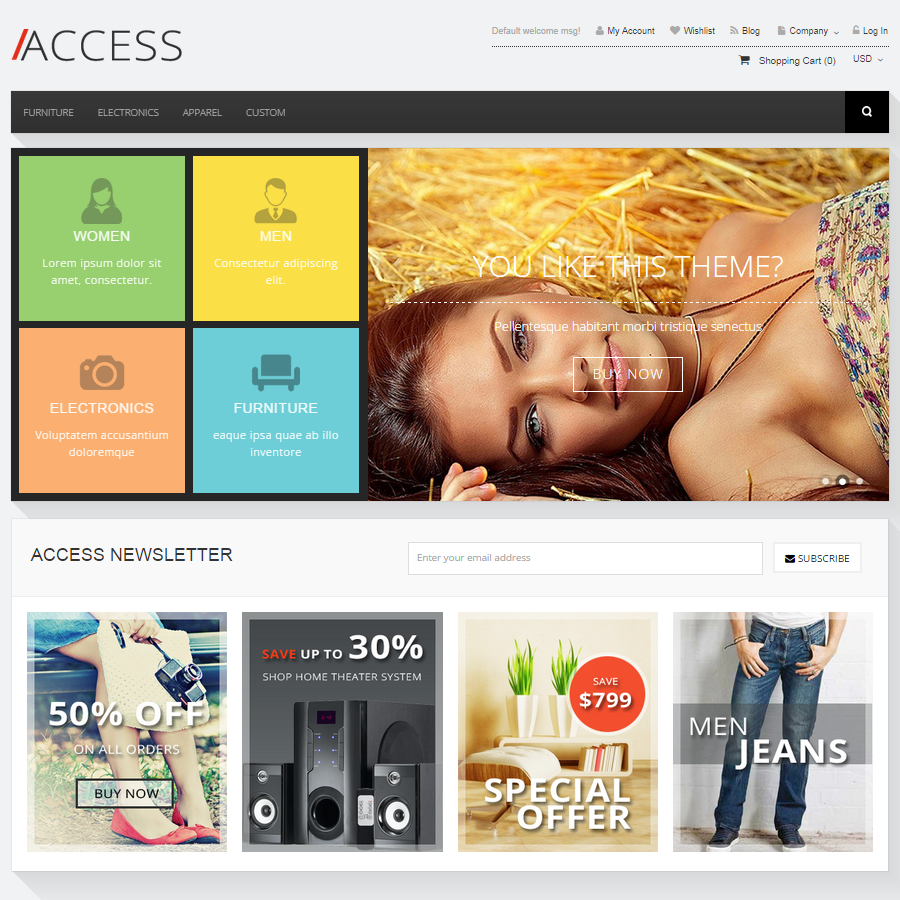 Access (out of stock and no longer supported)