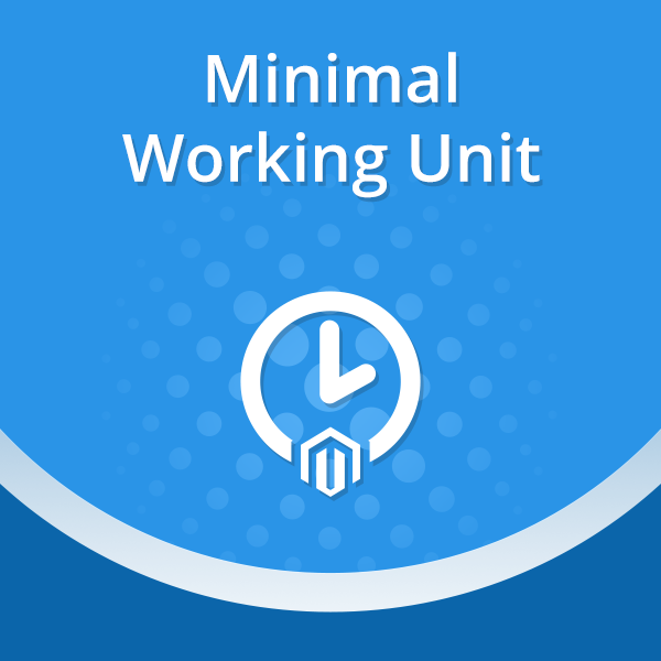 Customization work unit