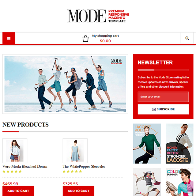 Mode (out of stock and no longer supported)