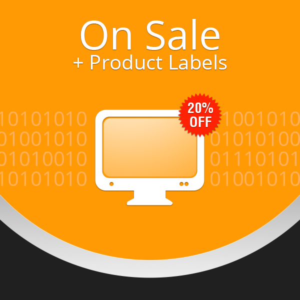 On Sale + Product Labels