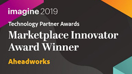 imagine 2019 Marketplace Innovator Award Winner.