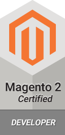 Magento 2 certified developer.