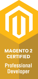 Magento 2 certified professional developer.