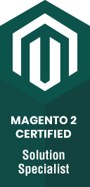 Magento 2 certified solution specialist.