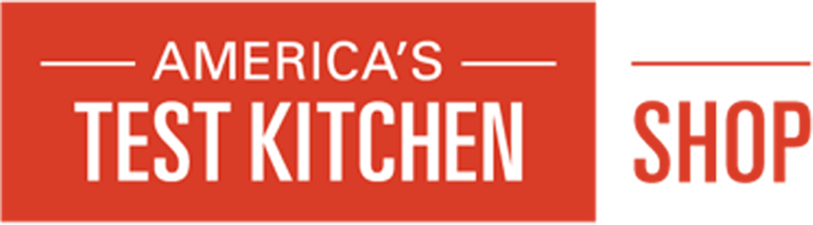 America's test kitchen shop logo.