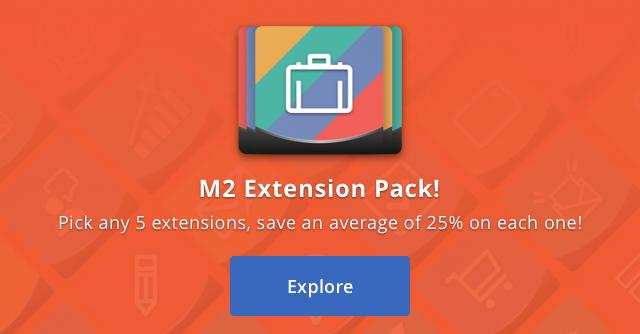 M2 Extension Pack Explore