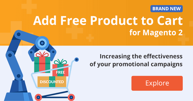 Add Free Product to Cart for Magento 2