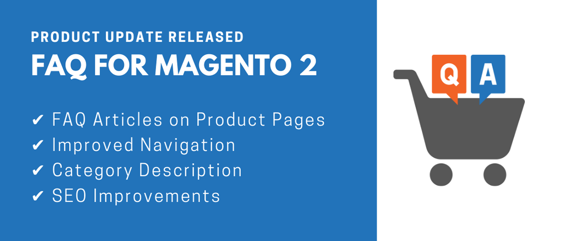 Product update released | FAQ for Magento 2