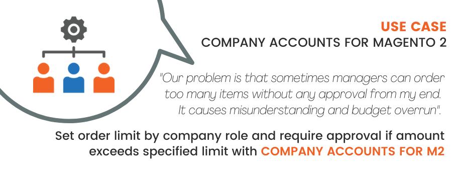 Magento 2 Company Accounts Use Case