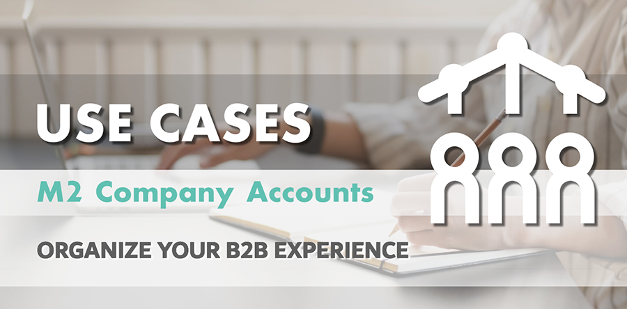 Magento 2 Company Accounts: Use Cases