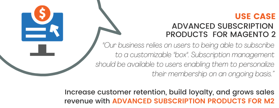 Magento 2 Advanced Subscription Products Use Case: Equip your store with subscription bundling